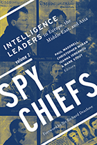 Book cover for spy chiefs