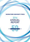 2014 Annual Report Georgetown University Press