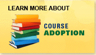 Learn more about Course Adoption