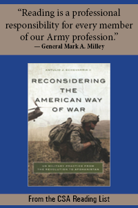 Reconsidering the American Way of War Cover